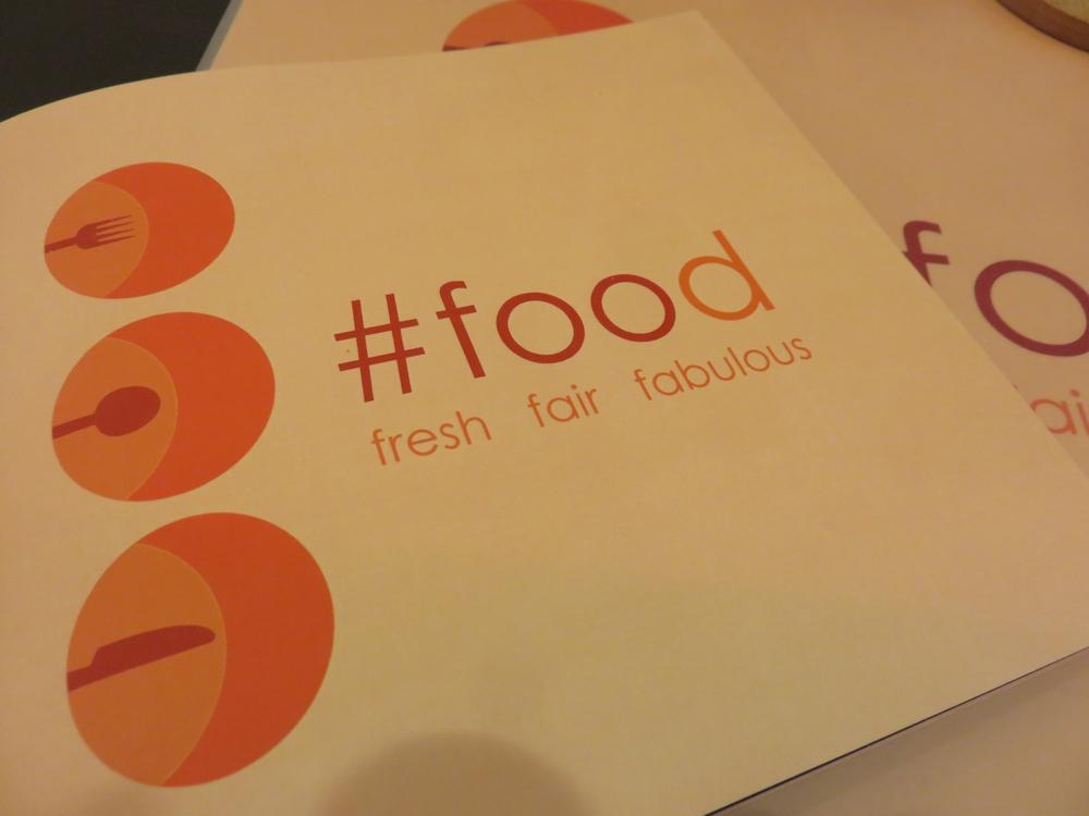 Menu, Hashtag Food, Bruges