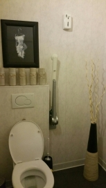 Toilets, clean and tidy, spacious. Réliva