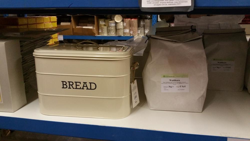 Bread box, Bakkershuis Gent