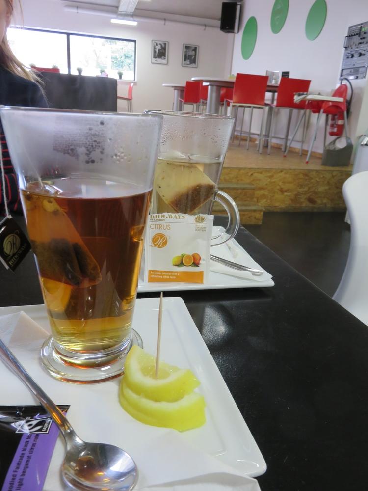 Teas at Bar Italiano