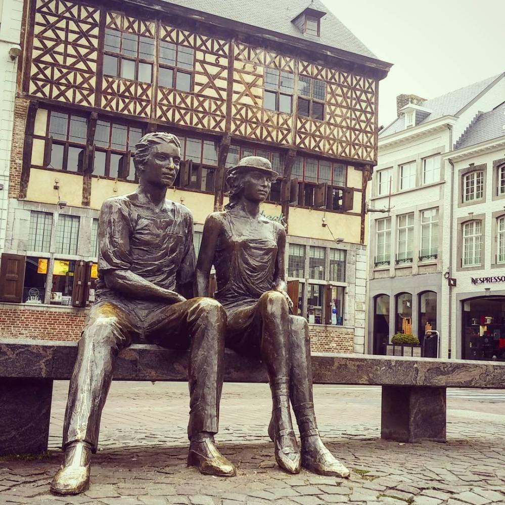 Market square Hasselt, Belgium