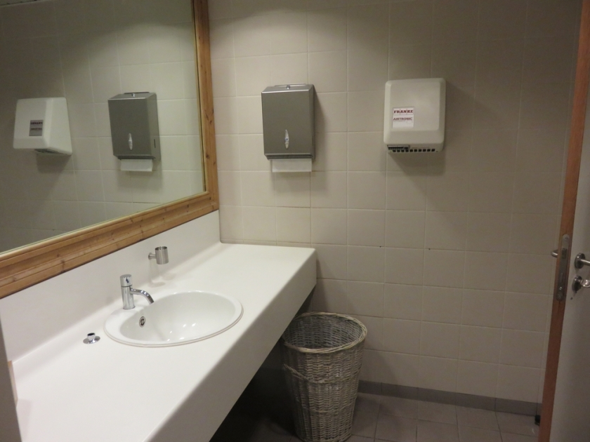 Le Pain Quotidien, Hasselt, toilets were clean and tidy.