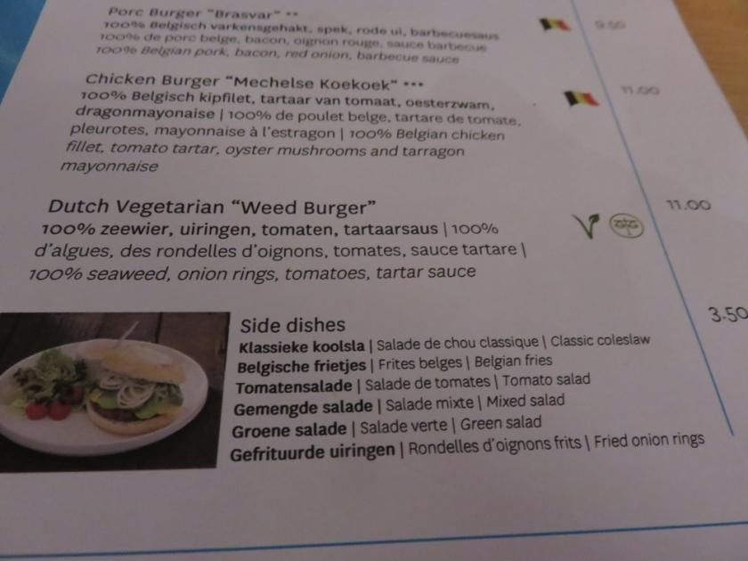 The Dutch weedburger, Novotel Brugge