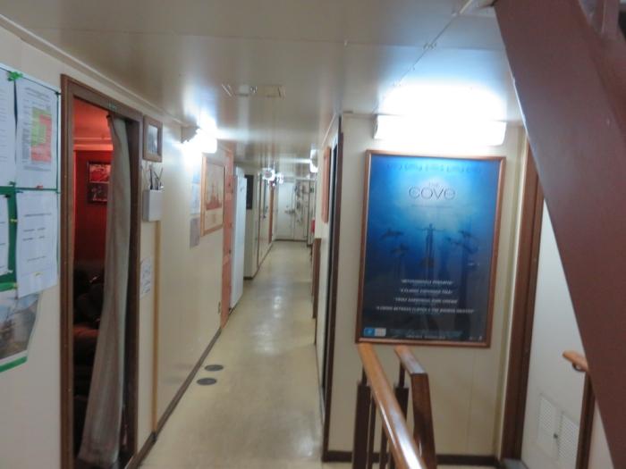 Inside the Sam Simon, Sea Shepherd, Antwerp