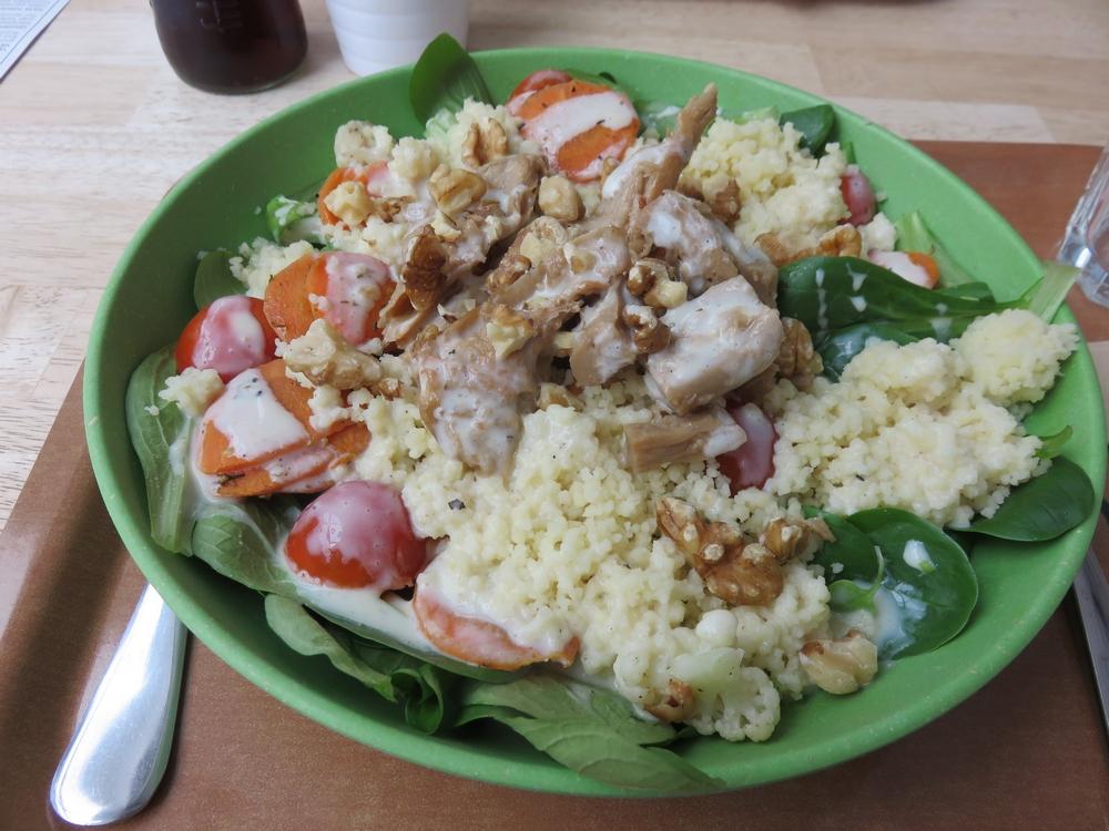 Zukini, lunch