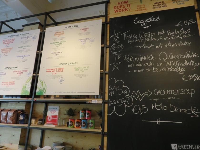 menu, Greenway Antwerp