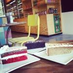 a piece of each cake ... :-)