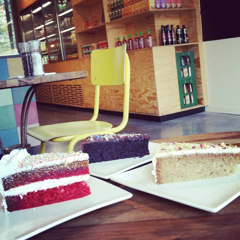 a piece of each cake ... :-)