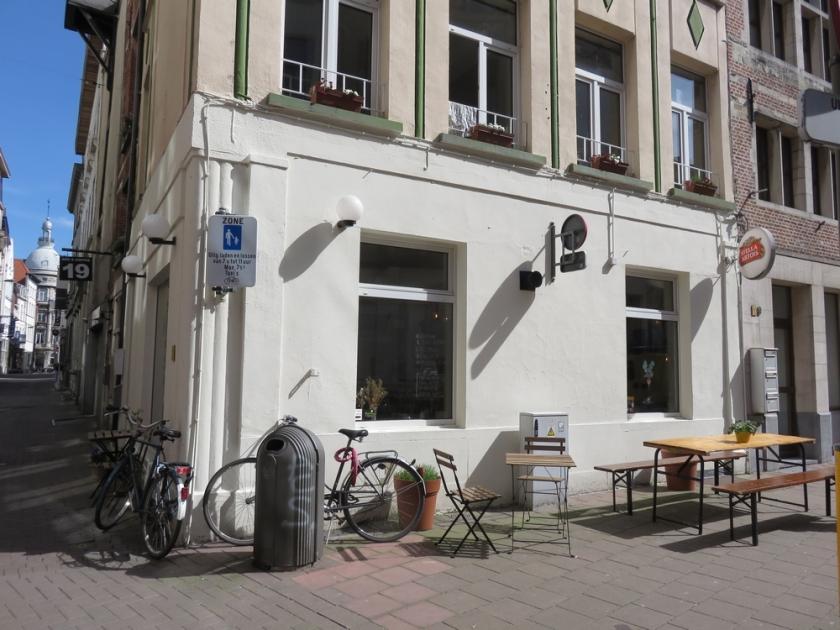 Terrace in front