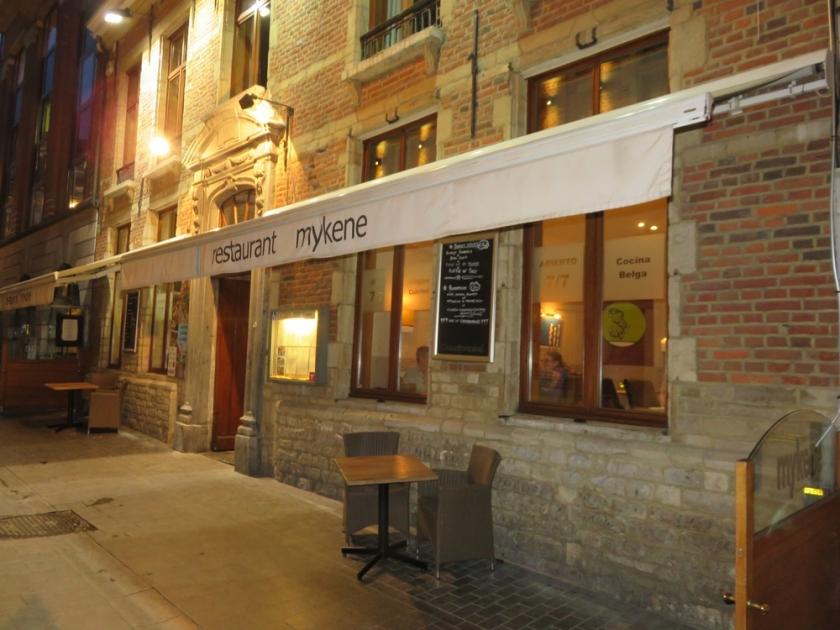 restaurant Mykene, Louvain