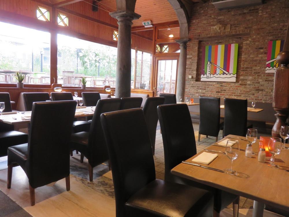 restaurant Mykene, interior