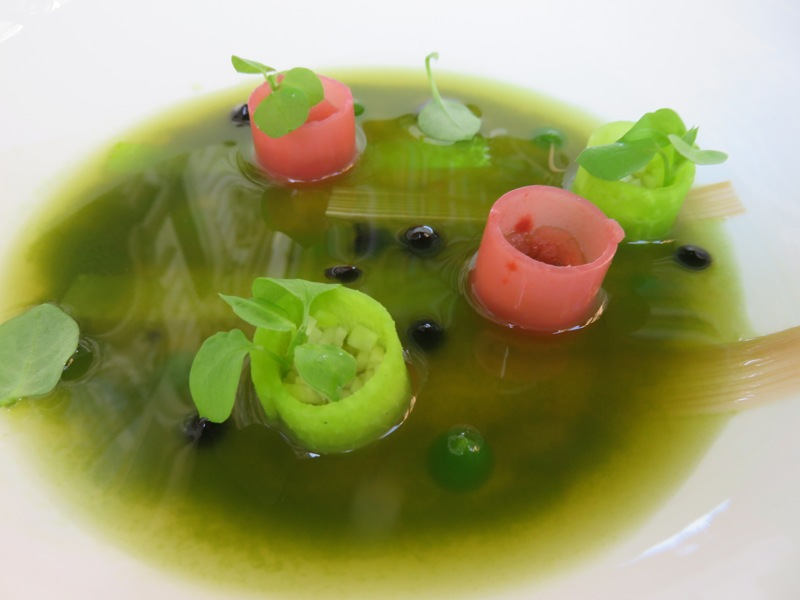 and we also like fine dining. appetizer at Tian, Vienna