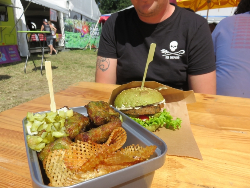The Dutch weedburger and Wish n chips