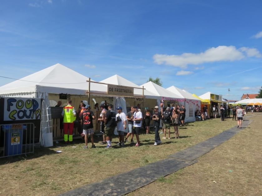 Food Stalls at Ieperfest