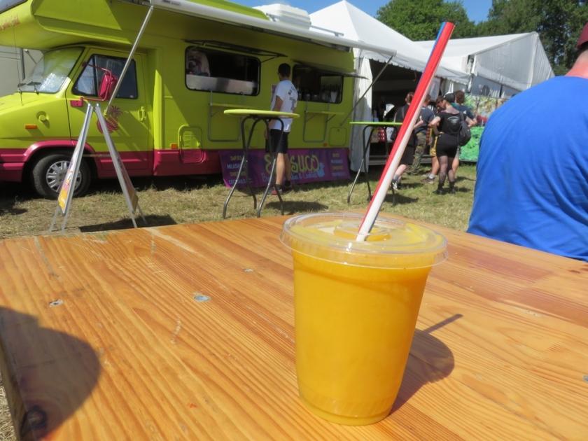Mango juice from Brasuco
