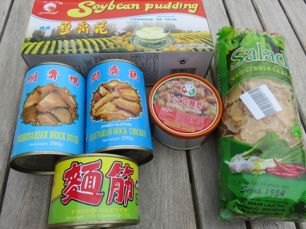 vegan goodies from Chow Chun, Ostend