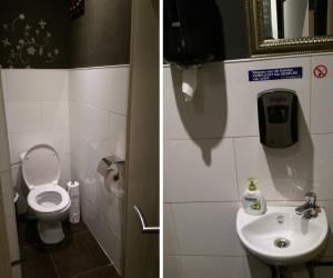 Funky Jungle, toilets