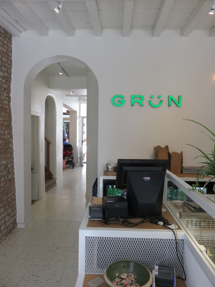 Grün, Bruges, interior
