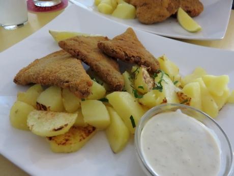 vegan schnitzel, Landia
