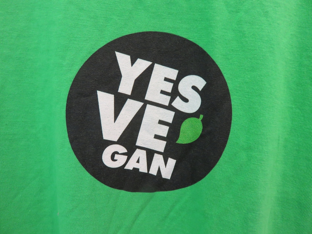 print on T-shirt for sale at Veganz, Vienna