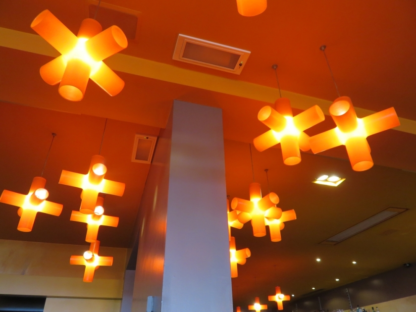 Bottarga, interior (ceiling - lamps)