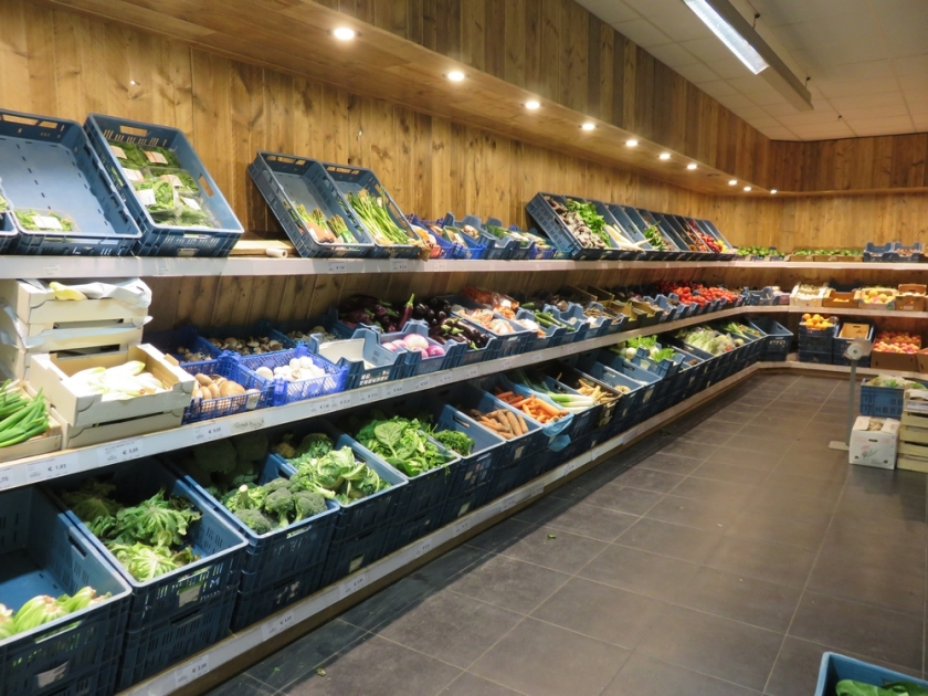 Fresh fruits and vegetables, het Natuurhuis, Antwerp