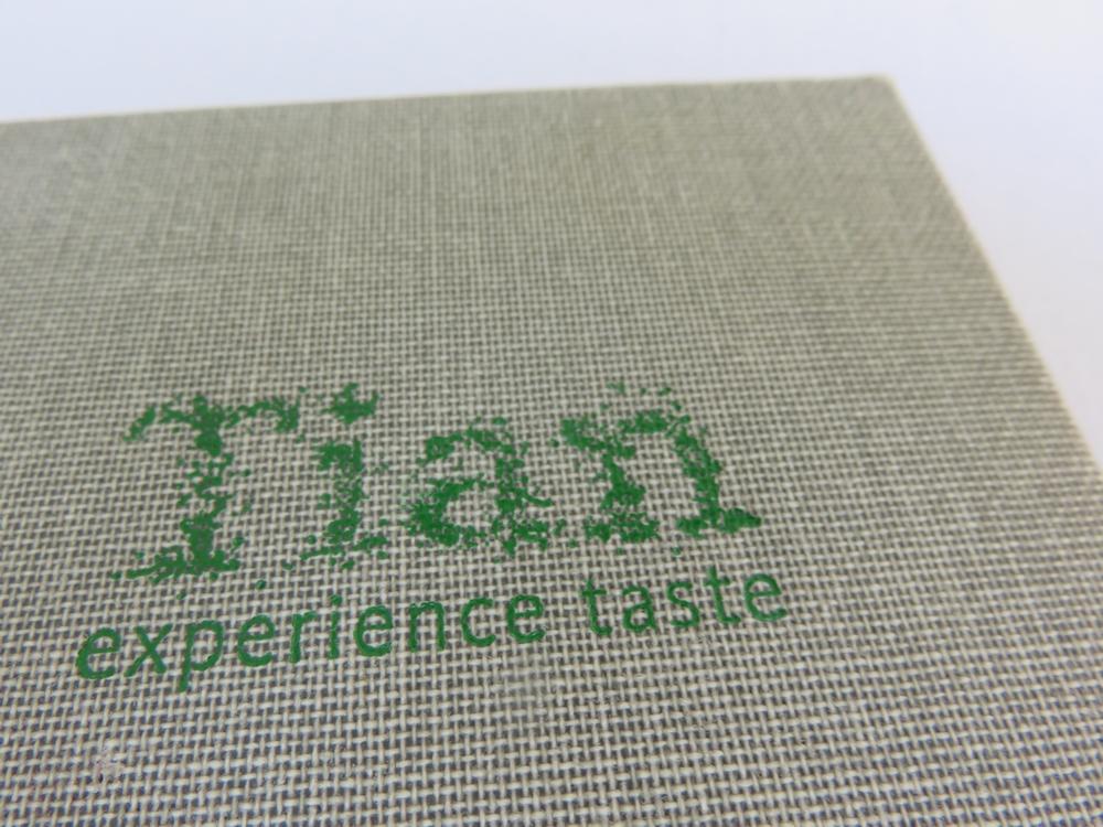 Tian: experience taste