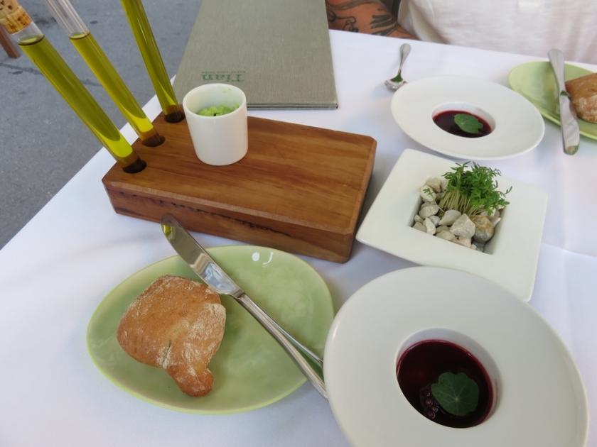 vegan fine dining at Tian, Vienna