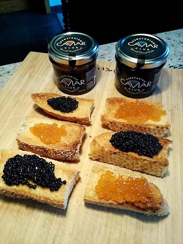 Vegan caviar