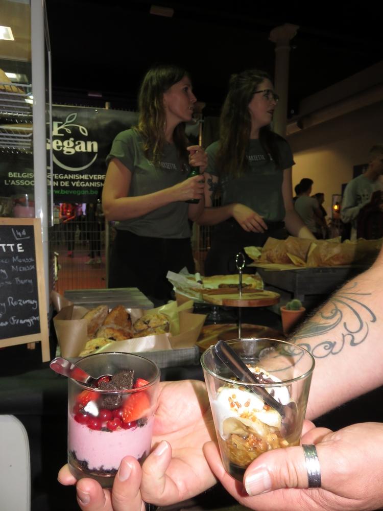 Desserts from Chez Mariette, vegan Summerfest