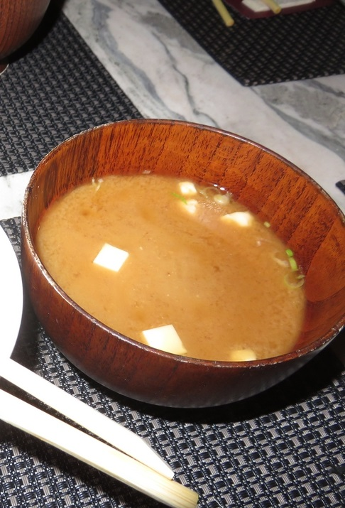 miso soup, Amatsu, Ghent