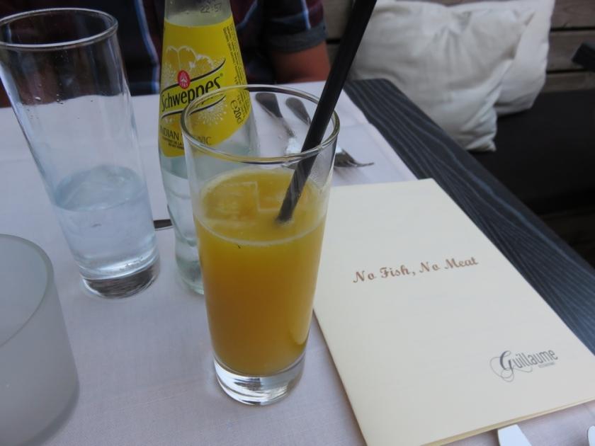 drinks at Guillaume, Bruges