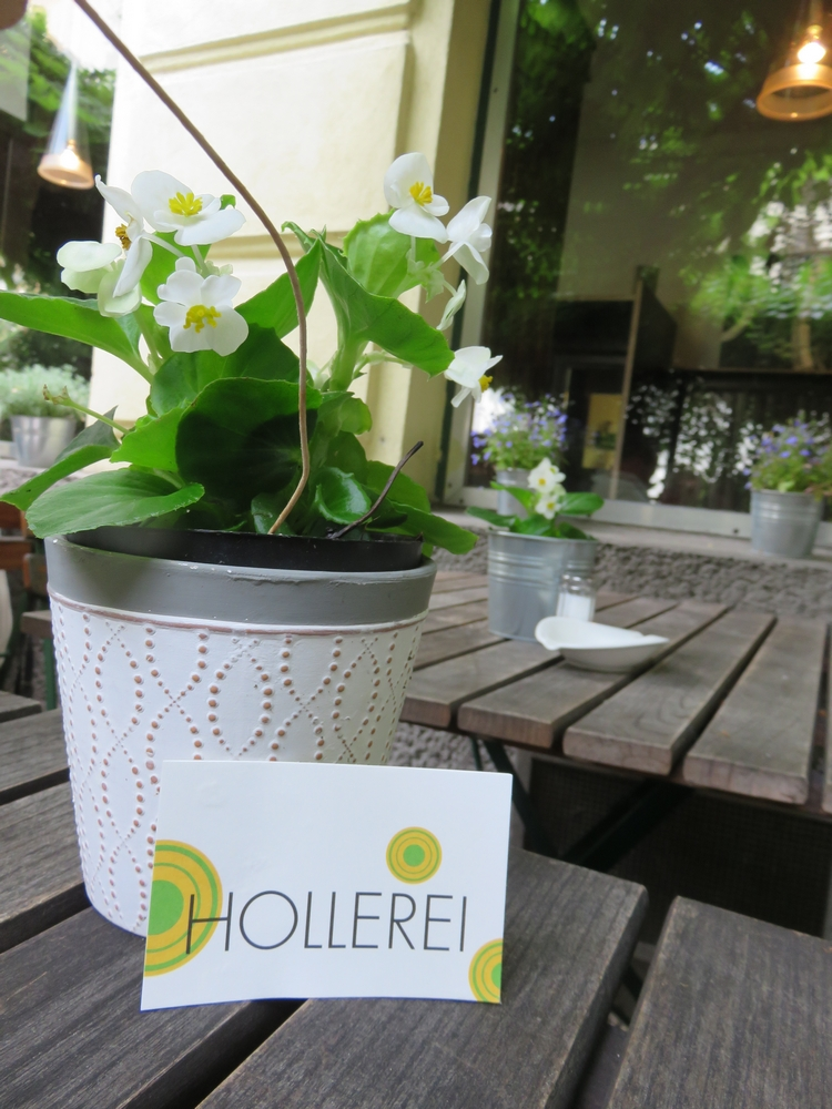 Hollerei, Vienna, outiside terrace