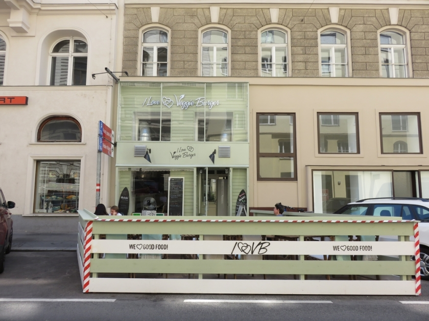 I love Veggie Burger, Vienna, Austria
