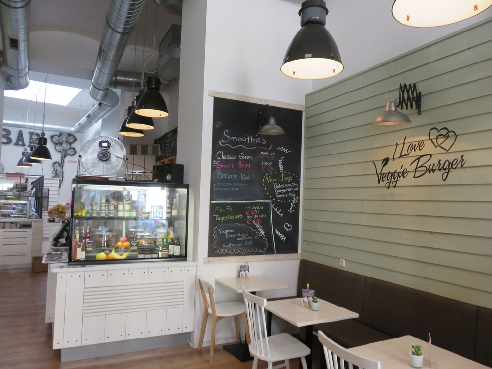 I love veggie Burger, Vienna, Austria , Interior