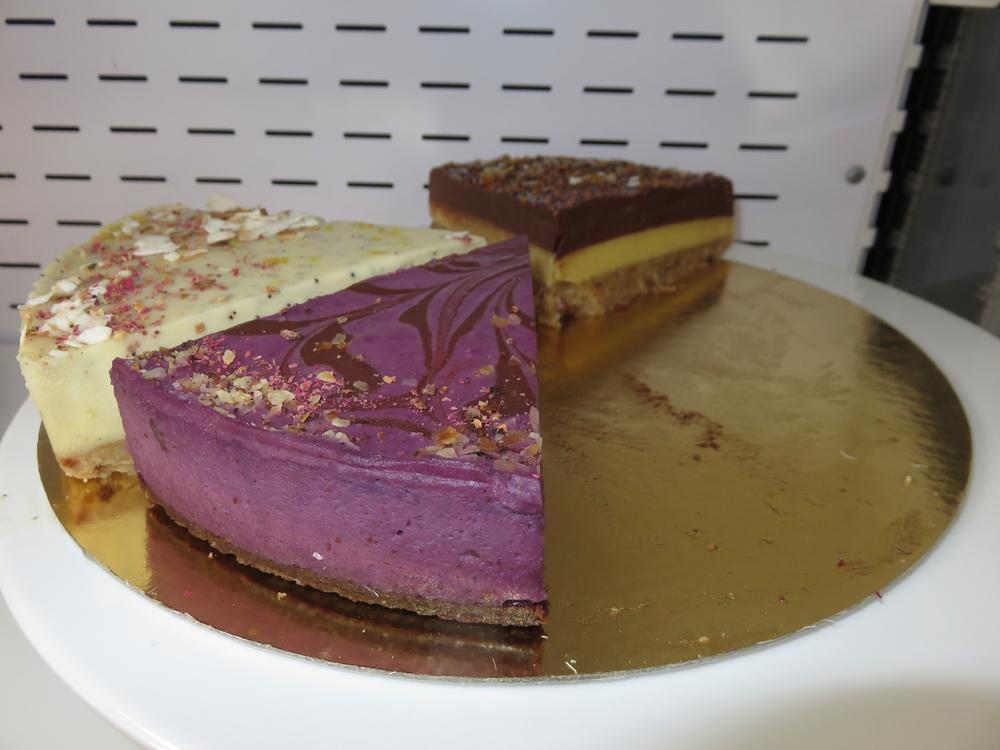 Vegan pie for sale at Moor & Moor