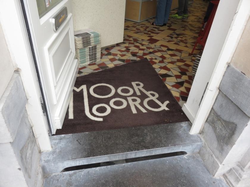 Entrance Shop Moor & Moor, Ghent