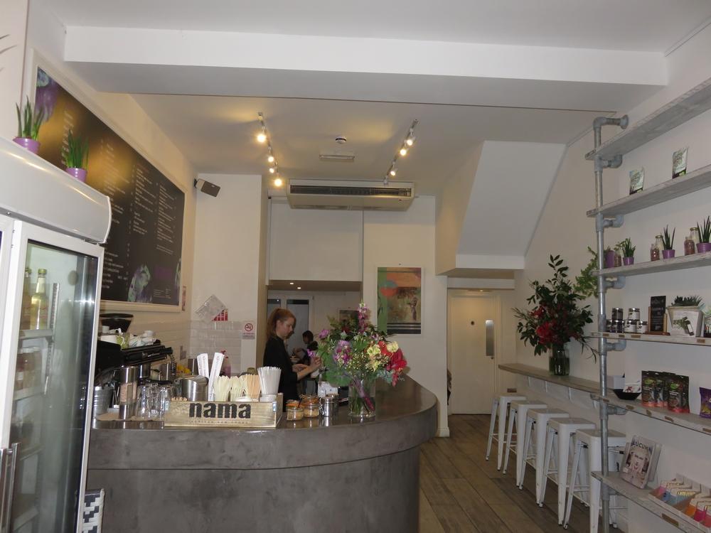 Interior, Nama Foods, London