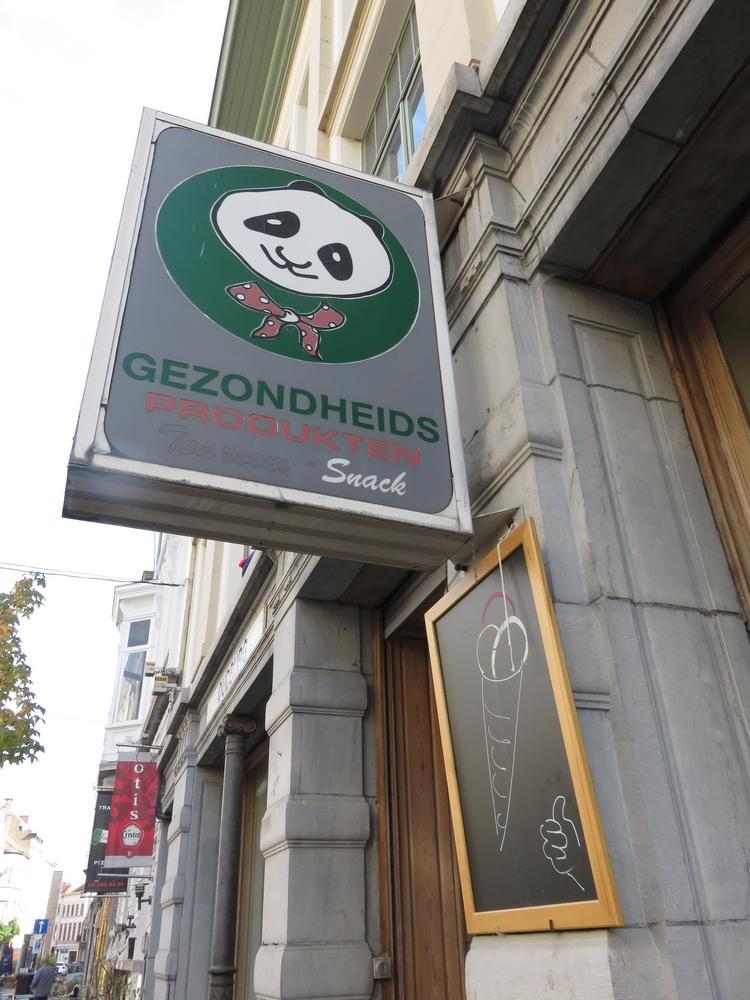 Organic shop Panda, Ghent