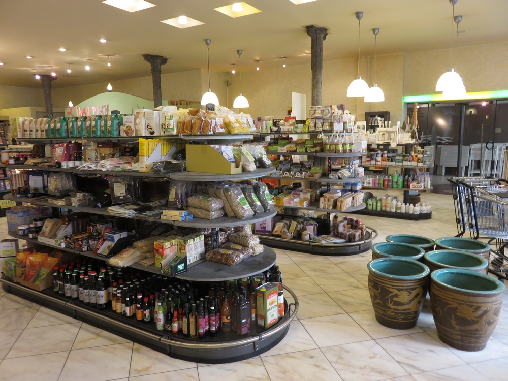 A look inside organic shop Panda, Ghent