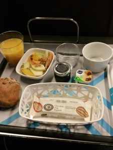 'breakfast' on our way back, on Eurostar