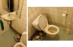 toilets at De Klein keuken, Kortrijk