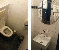 toilets at Le Touquet, Ostend
