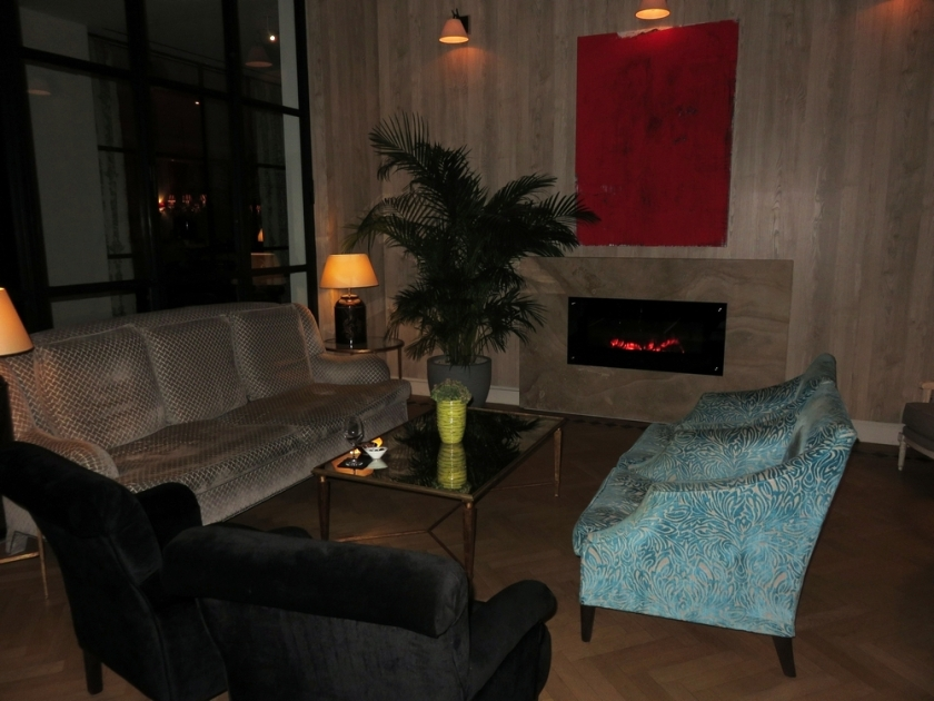 Lof gent, lounge area