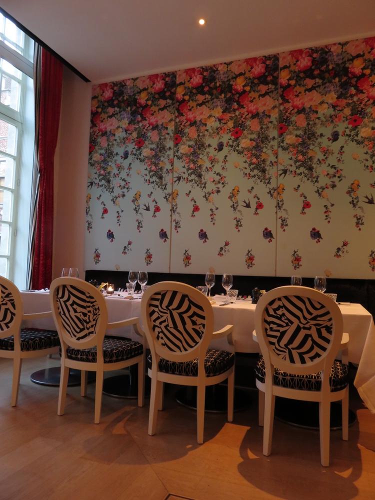 restaurant interior, Lof Ghent