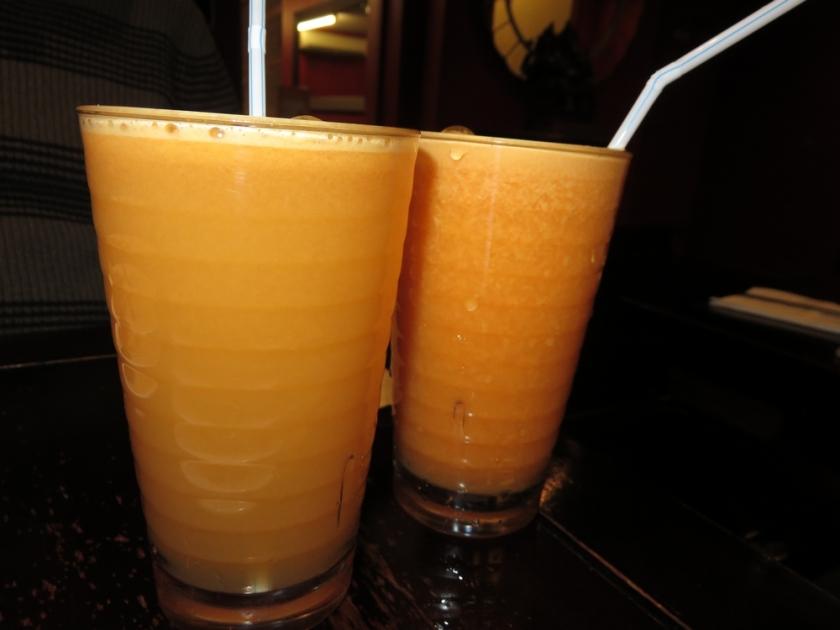 fresh juices at Tai Buffet, London
