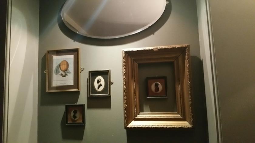 Vanilla Black, interior