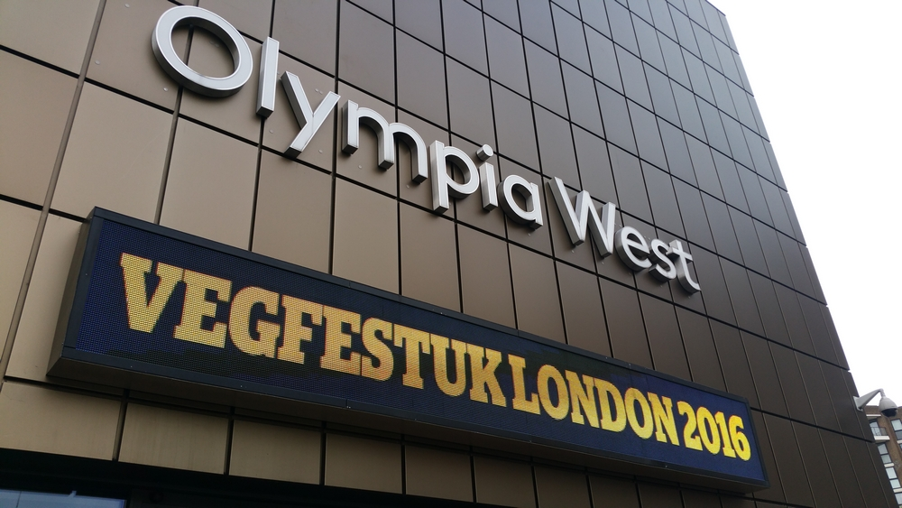 Vegfest London 2016 at the Olympia, London