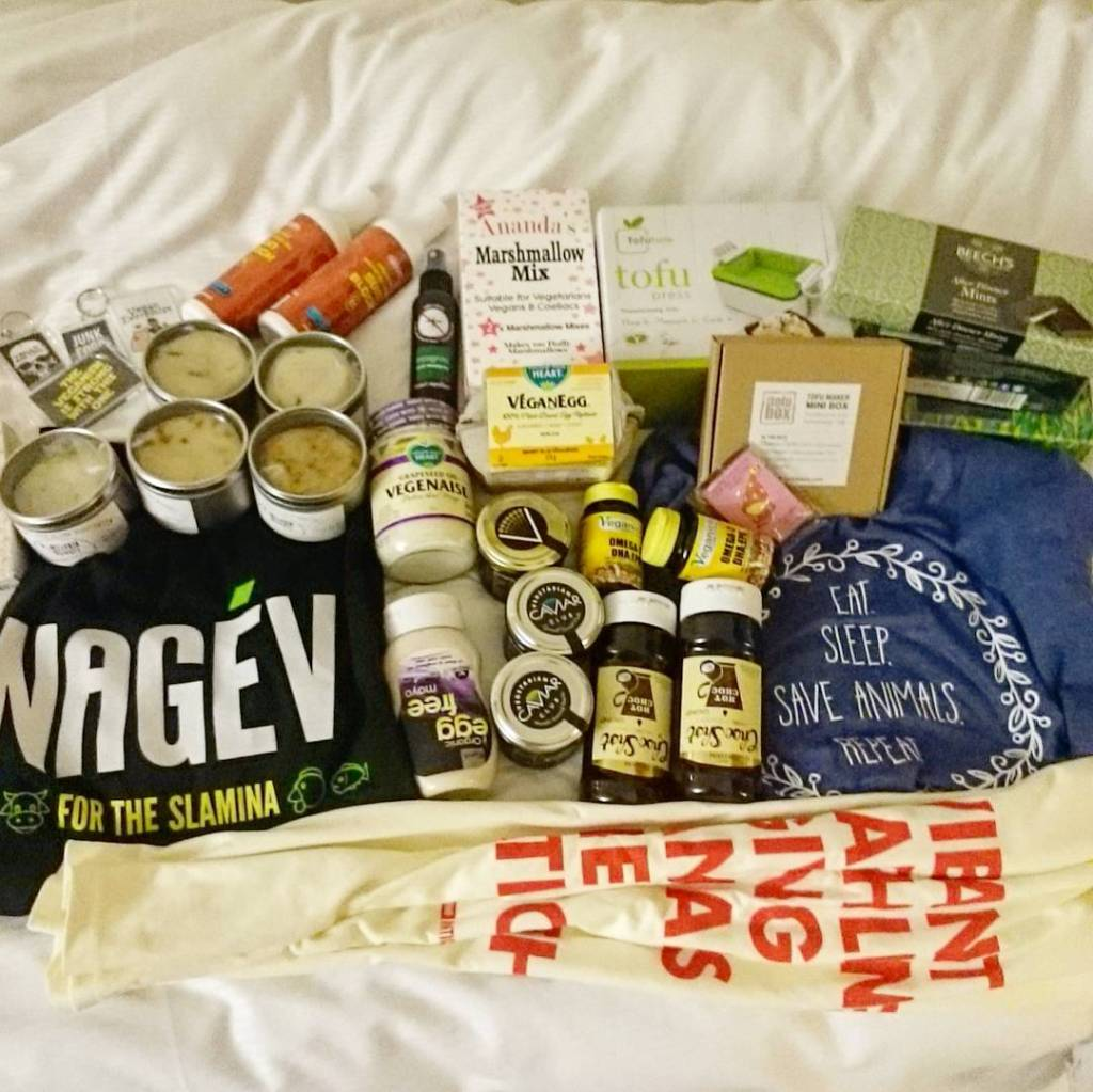 Our Vegfest haul :-)