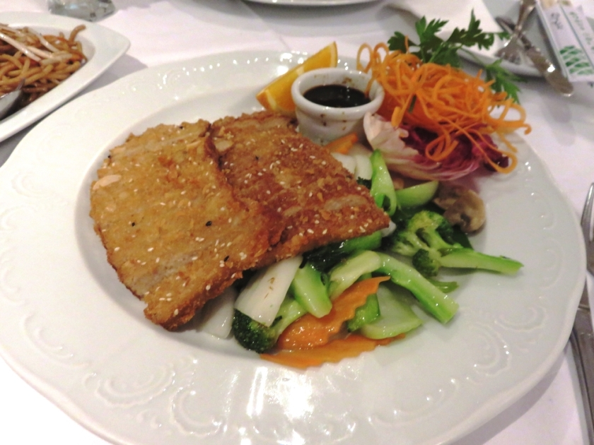 main dish, Xu's Cooking, Vienna